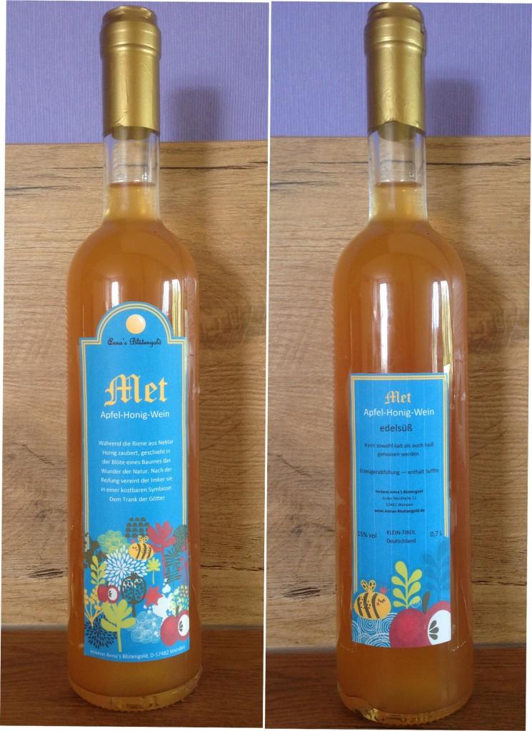 Apfel-Honig-Wein
